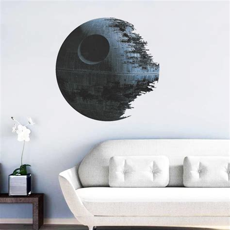 ultimately weapon death star wall stickers  fans home