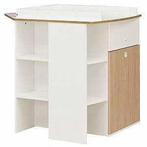 Meuble A Langer : meuble langer d 39 angle 2 en 1 de galipette meuble langer aubert ~ Teatrodelosmanantiales.com Idées de Décoration