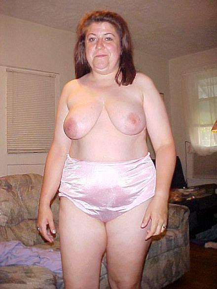 Big Pink Nylon Panties On A Curvy Bbw Wanting Love