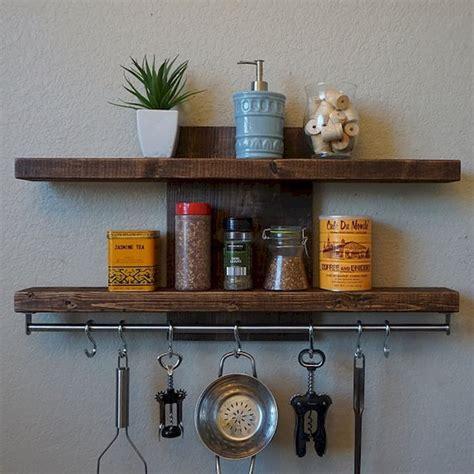 farmhouse kitchen rack organization ideas