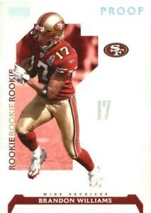 2006 Playoff NFL Playoffs Silver 49ers Football Card #125 ...