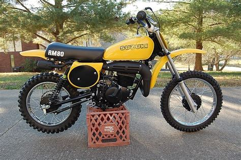 What Was The First Year For The Suzuki Rm80?
