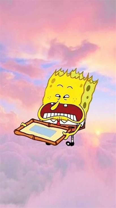 Spongebob Aesthetic Iphone Wallpapers Backgrounds Cartoon Bob