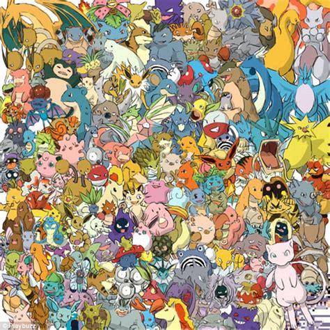 Pickachu Hidden Among Other Pokemon In Latest Brain Teaser