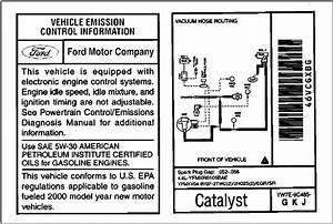 2000 Mustang Gt Vacuum Line Diagrams