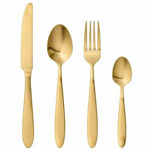 Besteck Gold Ikea : bloomingville besteck brushed gold online kaufen emil paula ~ Sanjose-hotels-ca.com Haus und Dekorationen