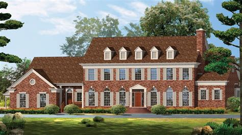 Georgian Style Home Designs From
