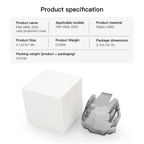 gimbal camera lens protection cover transparent grey  fimi  se  rc quadcopter sale