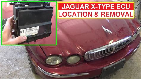 Jaguar X-type Ecu Engine Computer Location Removal And