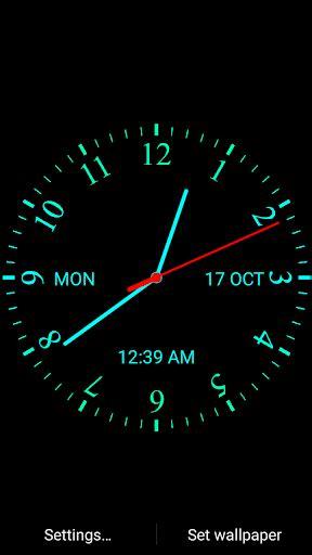 Digital Clock Clock Live Wallpaper Mobile9 analog clock live wallpaper play softwares
