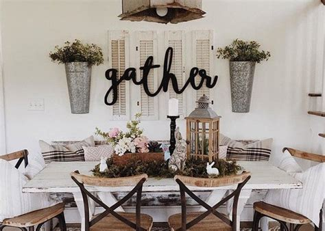 country dining room wall decor gather word wood cut wall sign decor Country Dining Room Wall Decor