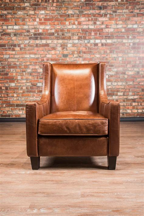 loft accent leather chair collection canadas boss