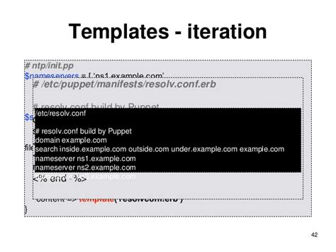 Puppet Erb Template by Learning Puppet Basic Thing