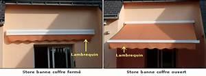 Store Banne Avec Lambrequin : store banne exterieur guide prix et achat conseils ~ Edinachiropracticcenter.com Idées de Décoration