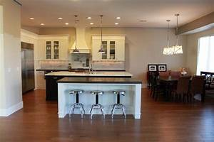 Tan paint color transitional kitchen sherwin for Kitchen colors with white cabinets with red umbrella canvas wall art