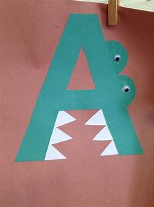 preschool letter a craft preschool letter crafts With letters for craft projects