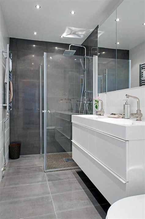 decoration salle de bain gris d 233 co salle de bain en gris et blanc