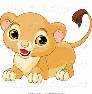 Cute Cartoon Baby Lion Cubs Car Pictures