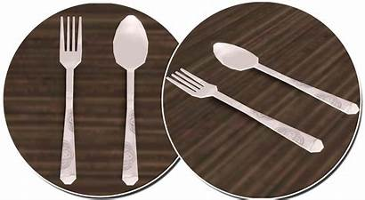 Spoon Plate Dinner Fork Presets Colour Dining