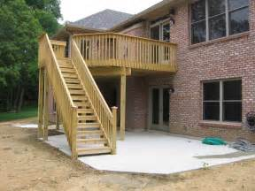 Planning Idea Elevated Deck Plan Extended Deck Ideas Porch Roof Framing