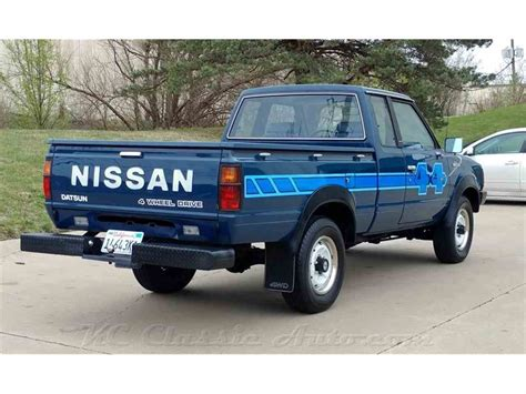 Datsun 720 For Sale by 1983 Nissan 720 King Cab 4x4 For Sale Classiccars