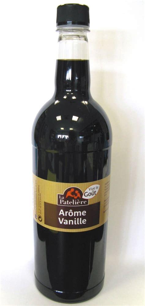 meilleur livre de cuisine arome vanille bouteille 1 litre la pateliere avl