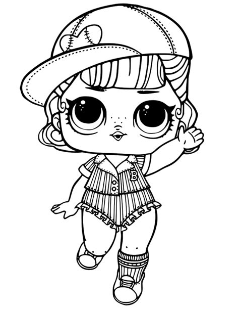 lol dolls coloring pages  getdrawingscom