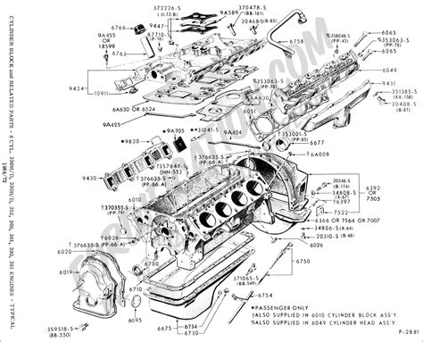 Ford V8 Engine Diagram by Ford Truck Technical Drawings And Schematics Section E