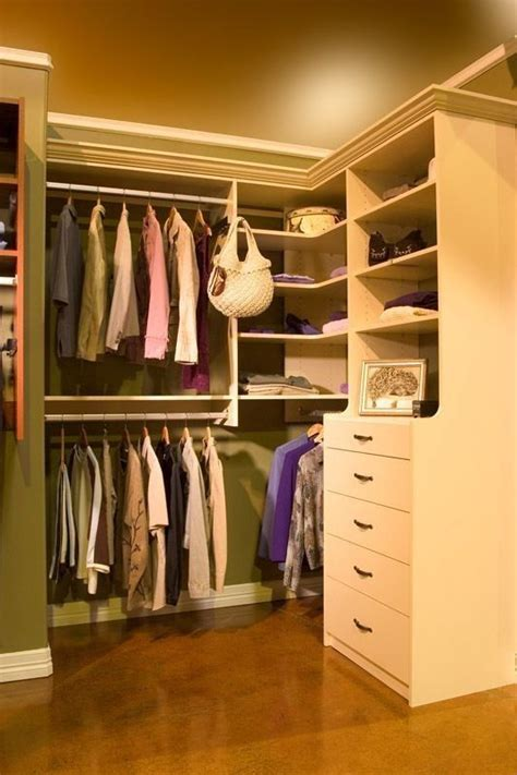walk in closet 102 hutch style drawer section gives you