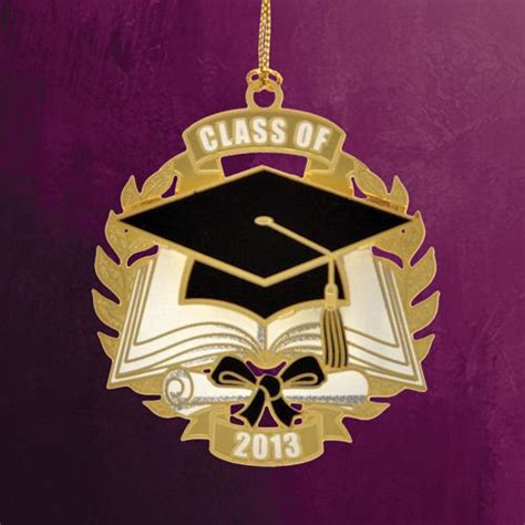 2014 chemart graduation brass christmas ornament
