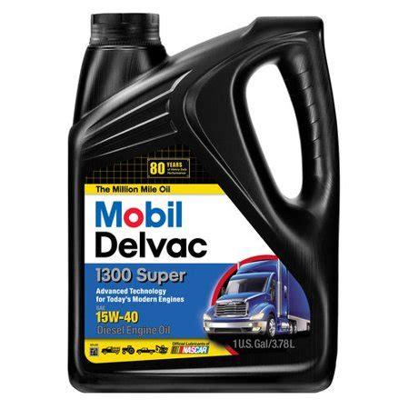 mobil delvac mobil delvac 15w 40 heavy duty diesel 1 gal