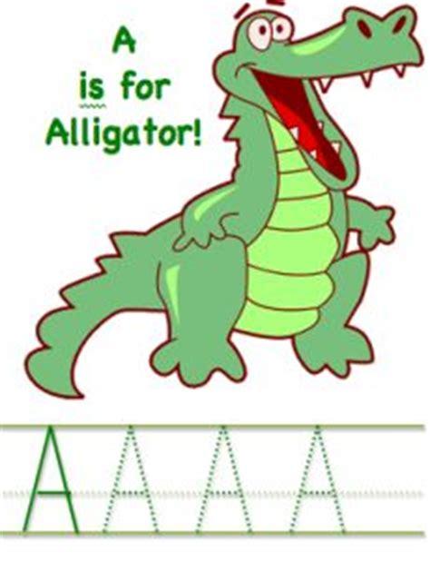 Lawteedah Letter A Alligator  Letter A Is For Apple