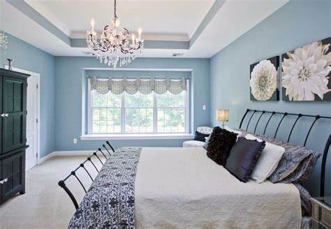 Design Ideas For A Blue Bedroom by 29 Beautiful Blue And White Bedroom Ideas Pictures