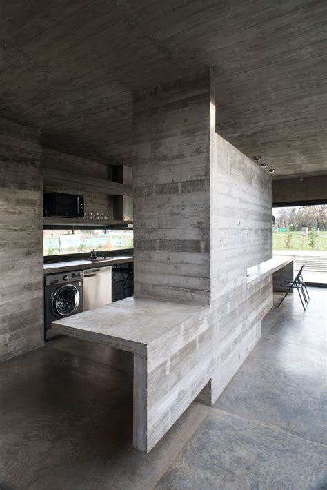 Concrete Modern Mach House in Argentina