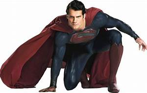 Henry Cavill as Superman (crouching) PNG by ...