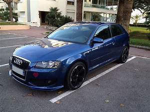 Audi A3 Bleu : personnalisation audi a3 pare chocs calandre jante feux ~ Medecine-chirurgie-esthetiques.com Avis de Voitures