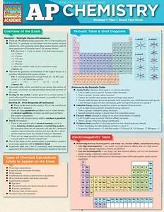 Ap Chemistry Quickstudy U00ae  5 95 Preparation For The Ap