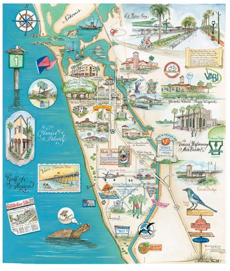 Apartments Downtown Venice Fl by Venice Florida Maps By Smith