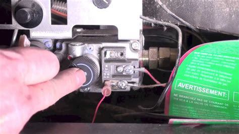 how the fireplace thermopile system is wired