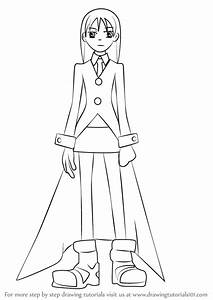 Learn How to Draw Maka Albarn from Soul Eater (Soul Eater ...