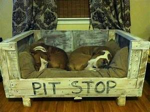Pit stophow freakin39 cute diy dog bed perfect for 2 for Pit stop dog bed