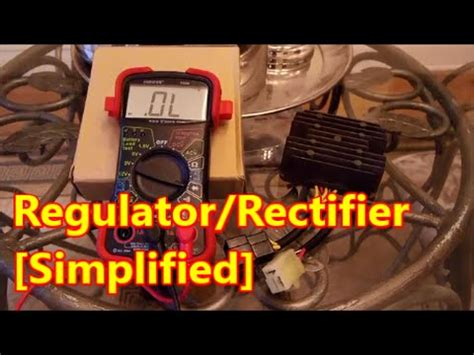 Idiot Guide Regulator Rectifier Test Youtube