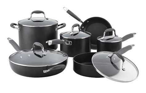 cookware nonstick non stick piece pans induction advanced anolon sets anodized hard pots using kitchen should gray pan meyer harmful