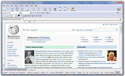 kompozer wikipedia
