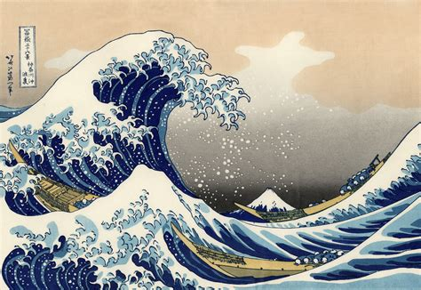 Japanisches Bild Welle by The Great Wave Kanagawa 4k Ultra Hd Wallpaper And