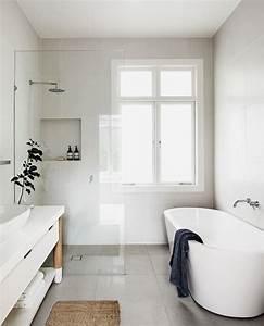 Minimalist, White, Bathroom, Ideas, U2013, Goodsgn