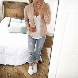Cute Outfits With Light Wash Jeans - Oasis amor Fashion