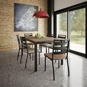 ensemble de salle a manger style rustique contemporain With salle a manger rustique