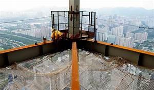 china's tallest skyscraper under construction: one floor ...