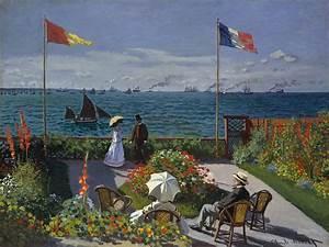 File:Claude Monet - Jardin à Sainte-Adresse.jpg ...